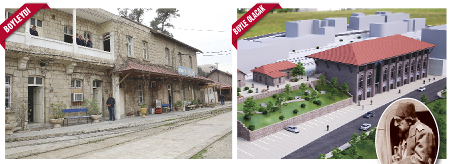 amman tren istasyonu restorasyonu tika