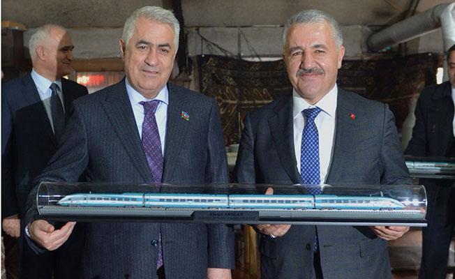 Asrın Projesi Bakü Tiflis Kars Demiryolu Projesi Toplantı