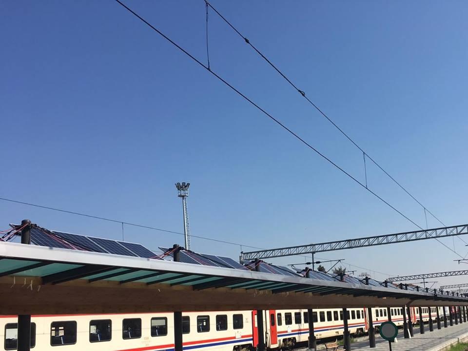 izmir basmane gar güneş enerji santrali tcdd