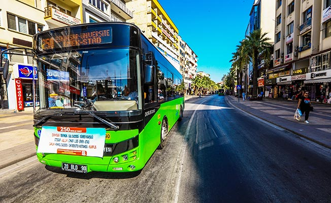 Denizli'de beleiye otobüsü kullanımı cazip hale geldi