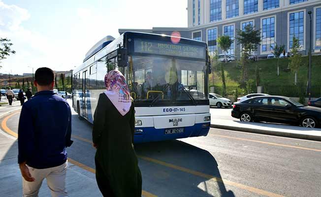 ankara bilkent şehir hastanesine ulus ve kızılaydan giden otobüsler 112 hatlı otobüs