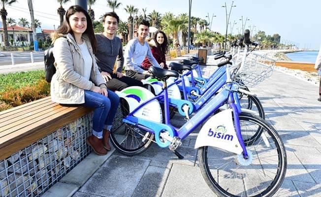 bisiklet kiralama yerleri izmir