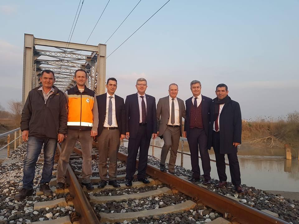 tcdd bölge müdürü selim koçbay manisa nif çayı tarihi köprü