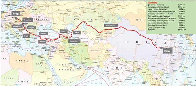 Çin Türkiye Yük Treni