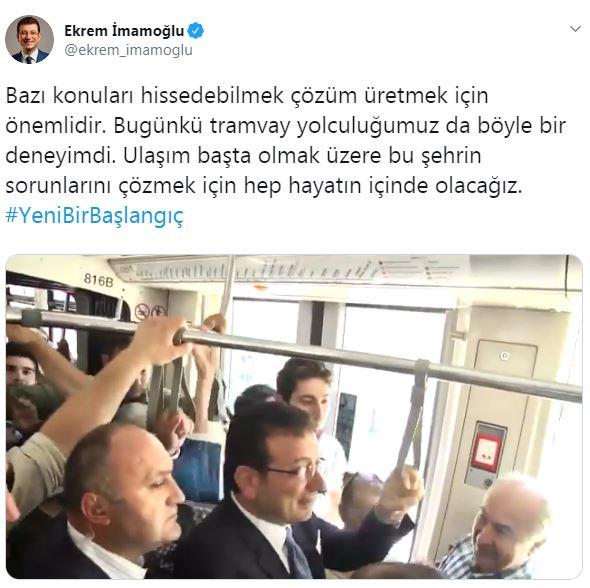 ekrem imamoğlu tramvay