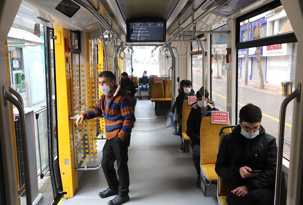 eskişehir tramvay yolcu sayısı 2020 ağustos