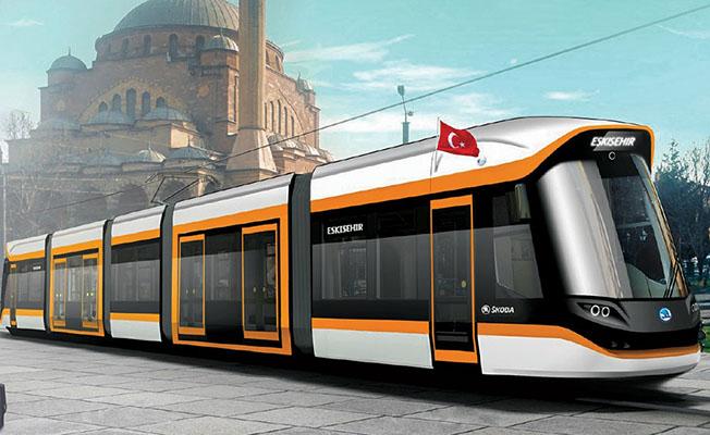 Skoda tramvayı eskişehir