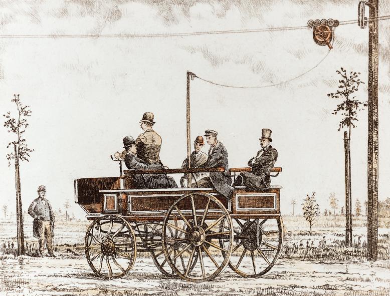 ilk trambus almanya berlin