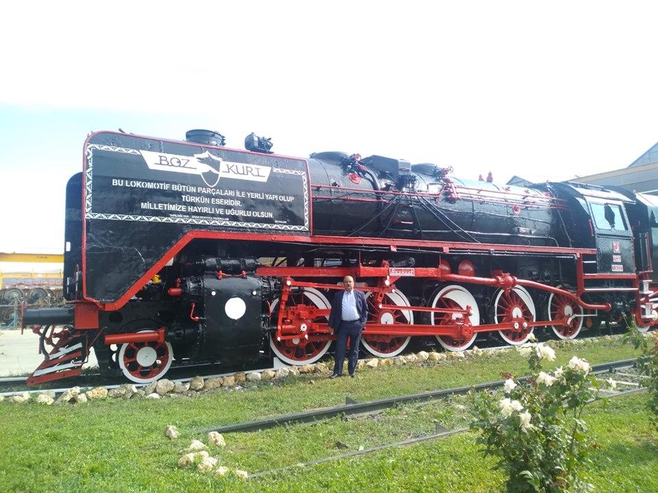 ilk yerli lokomotif bozkurt sivasta tüdemsaş tesislerinde