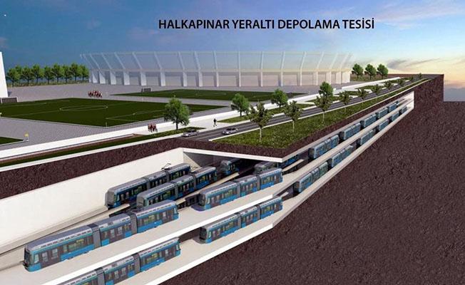 halkapınar yerlatı metro otoparkı