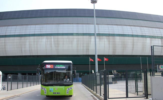 kocaeli stadyumuna ulaşım için ek otobüs seferleri