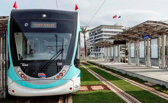konak tramvayı seferlerine başlıyor