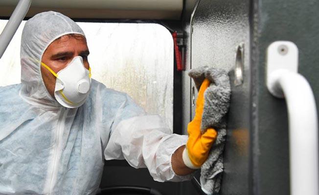 mersin otobusler kotu kokulardan ve bakterilerden arindirildi