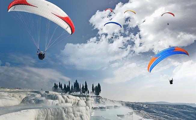 pamukkale yamaç paraşütü uçuşları daha güvenli olacak