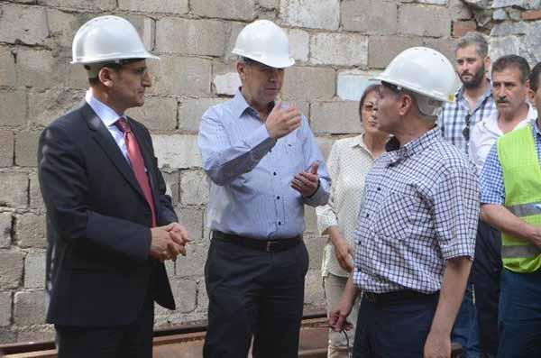 Söke Garı Cazibe Merkezine Dönüştürecek Restorasyon Çalışması