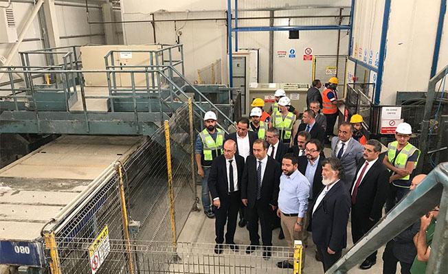 Müsteşar Suat Hayri Aka Sivas Yerköy Hızlı Tren Şantiyesinde