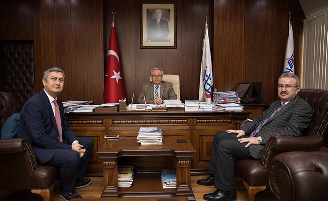 TCDD Basın Müşaviri İbrahim Kekeç Soner Baş İzmir Liman