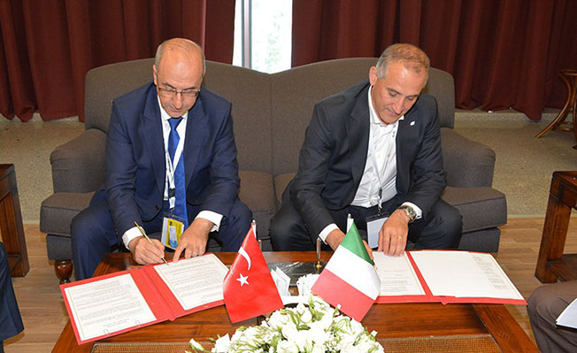 TCDD ile İtalyan Demiryolları arasında deklarasyon imzalandı