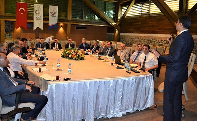 """TCDD İzmir 3. Bölge Müdürlüğü'nde, """"Kapasite Geliştirme Projeleri Değerlendirme Toplantısı""""düzenlendi."""