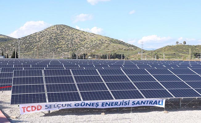 selçuk izmir tcdd güneş enerji santrali