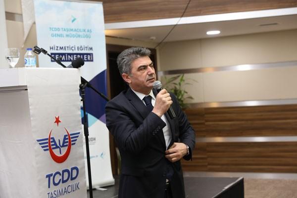TCDD Taşımacılık Eğitim Semineri Çetin Altun