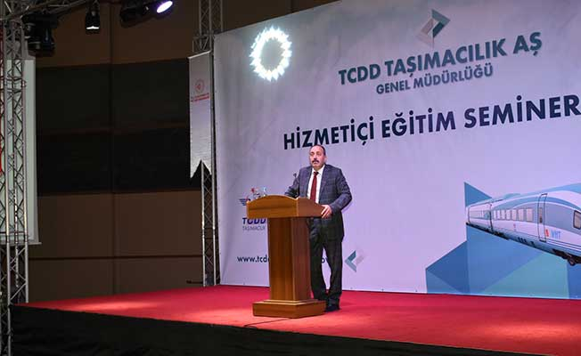 TCDD Taşımacılık Genel Müdürü Kamuran Yazıcı Eğitim Seminerinde