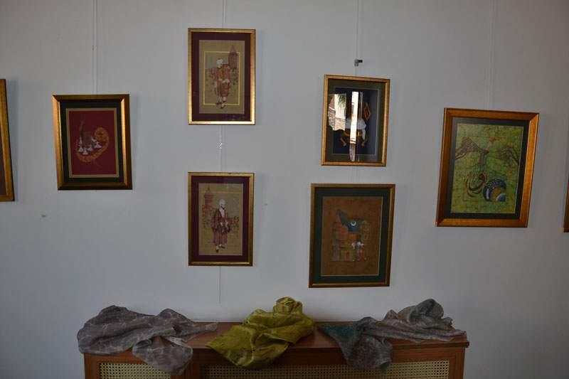 TCDD Alsancak Sanat Galerisinde Sergi Açılışı