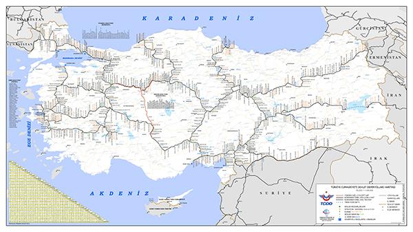 TCDD haritası 2016 güncel