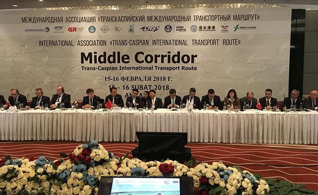 Trans-Hazar Uluslararası Taşımacılık Güzergahı Uluslararası Birliği Genel Kurul