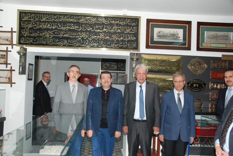 Ürdün Ulaştırma Bakanı TCDD'yi ziyaret etti