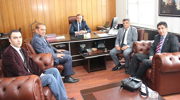 Yolder Yol Daire Başkan Yardımcısı Hasan Öztürk Ziyaret etti