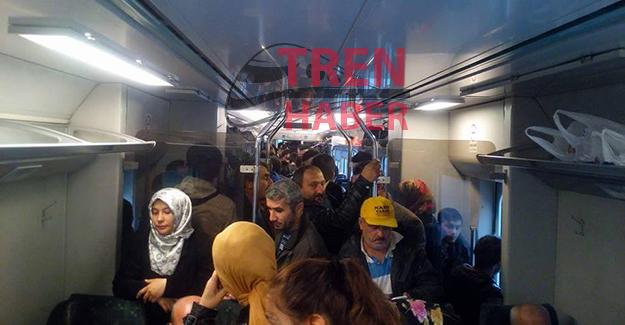 zonguldak trenlerdeki yoğunluk
