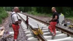 Demiryolunda Alüminotermit Ray Kaynağı Nasıl Yapılır?