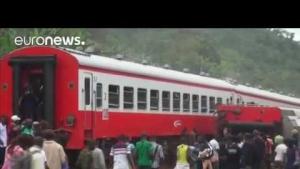 Kamerun'da tren kazası: 55 ölü, 300 yaralı