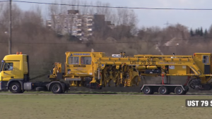 Plasser & TheurerUST 79 S Mobil Demiryolu Makas Buraj Makinası